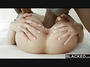 Picture BLACKED Blonde Kate England Gets Anal From H...