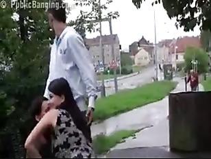Picture Risky Public Sex Threesome
