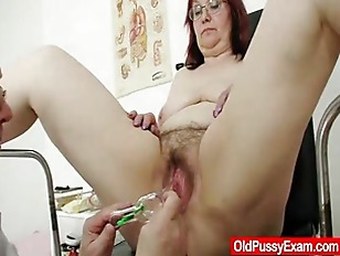 Picture Hairy Grandma Enema During A Medical Exam
