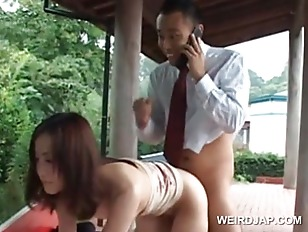 Outdoor asian hardcore fuck wi