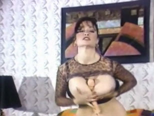 Picture Lili Xene Plays With Her Big Tits