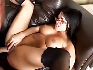 Big titty latina bitch Eva rammed