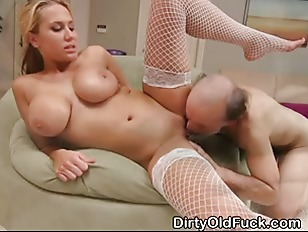 Blonde Teen Girl With Massives