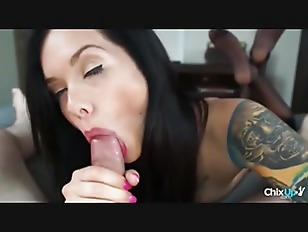 Picture Horny Brunette Young Girl 18+ Sucks A Dick I...