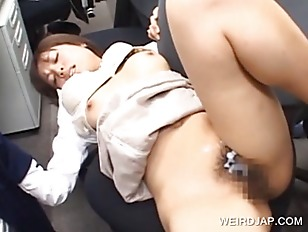 Asian tempting babe cunt fucke