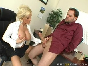 Picture Diamond Foxxx Fucks In The Office