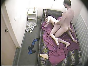 couple fuck under spy cam