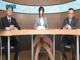 Bukkake tv announcer compilation 6