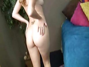 Teen blonde giving her boyfrie