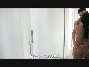 Picture FantasyHD Sexy Girl Gets Her Pussy Wet For H...