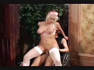 Picture Blonde Nurse Fucking In Boots And Fishnet Ny...