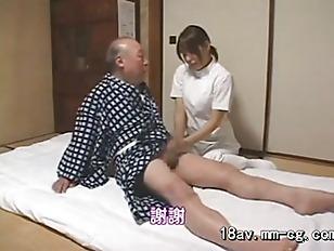 Picture Home Nurse Cums Through