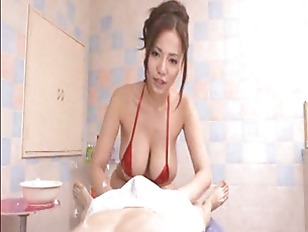 Picture Asian Japanese Big Tits Massage Bath Blowjob