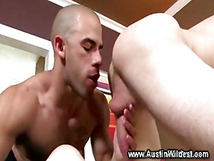 Gay twink gets his ass prepped