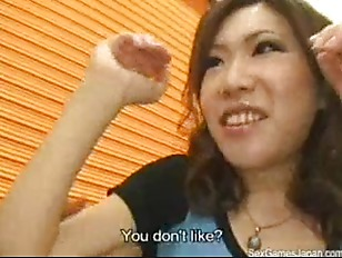 Japanese perv directs timid gi