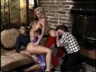 Foursome with Johnni Black and