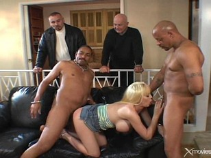 Blonde Wife Dp In Front Of Husband